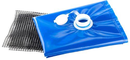 AGT Wassersack: Wasserbehälter für die Schubkarre, 80 Liter (Faltbare Wasserkanister)
