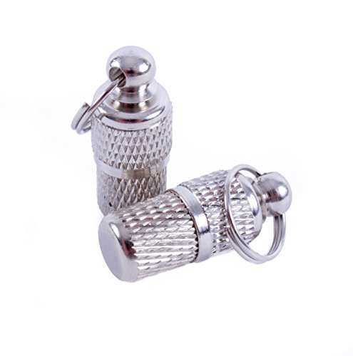 2 geriffelte Adressanhänger für Katzen und Hunde geeignet / Hübscher Halsbandanhänger aus Metall (2 Stück Packung)
