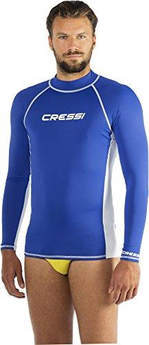 Cressi Herren Rash Guard, Protection Solaire UV (UPF) 50+, Cressi: Italian Quality Since 1946