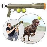 Pro PetCare | Ball-Schleuder für Hunde, Ballkanone mit 15m Reichweite, wasserfestes Hunde-Spielzeug, inkl. 2 Bälle