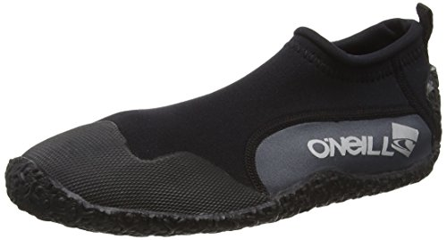 ONEILL WETSUITS O'Neill Wetsuits Erwachsene Schuhe Reactor Reef Boots, Black/Coal, 45, 3285-A81