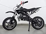 RV-Racing Pocketbike Dirtbike Pocket Cross Bike Kindermotorrad Crossbike Schwarz