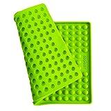 Collory Silikon Backmatte   1.5cm Halbkugel Backform für Hundekekse Hundeleckerlies   Backunterlage   Hitzebeständig 240°C   Lebensmittelecht (BPA-frei)   Pralinenform   Antihaftend