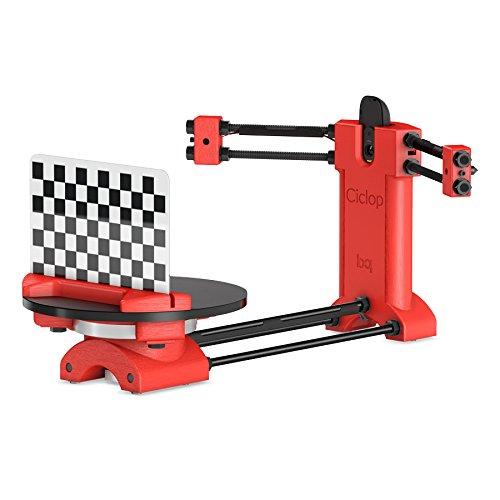 BQ H000178 Ciclop 3D Scanner, DIY Kit, Rot