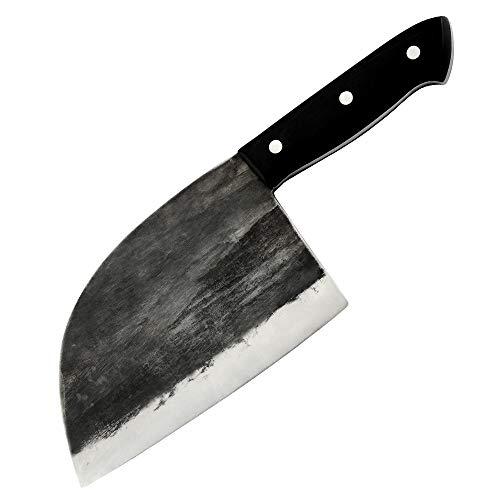 Handgemachtes Küchenmesser aus Edelstahl Qualität Hackmesser Für Spalter Kochwerkzeug Bestes Geschenk Holzgriff Kochmesser