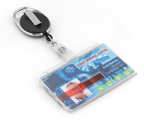 Ausweishülle JoJo mit reißfester Schnur für bis zu 2 Karten von BE-HOLD bietet als Ausweishalter ihren Karten sicheren Halt und können durch die beiden roten Schieber wieder einfach und einzeln entnommen werden.