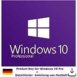 Microsoft Windows 10 Pro Product Key per Post und vorab per E-Mail inkl. Anleitung von NeoSoft - Versand innerhalb von 60Min