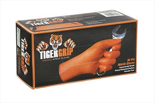 Kunzer Nitril Einweghandschuh Größe (Handschuhe): L EN 374 , EN 455 TIGER GRIP L 100St.