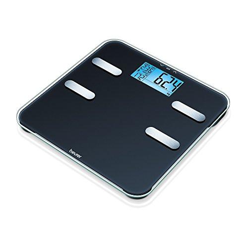 Beurer BF 185 Diagnosewaage, Körperfettwaage mit extra großer LCD-Anzeige