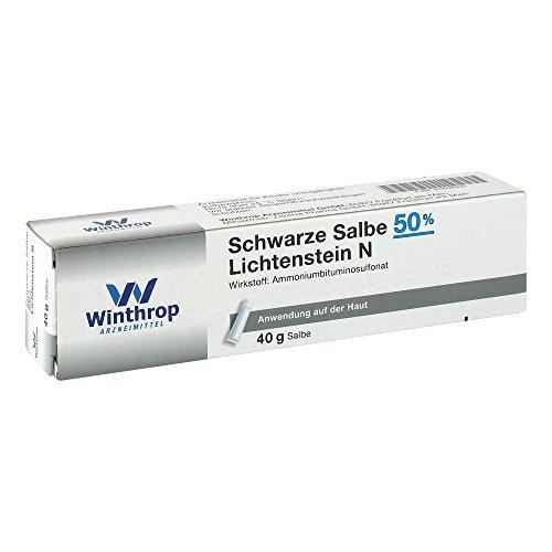 Schwarze Salbe 50% Lichtenstein N 40 g