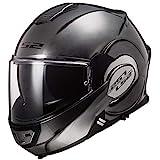 LS2 Motorradhelm FF399 VALIANT JEANS TITANIUM, Titanium, M