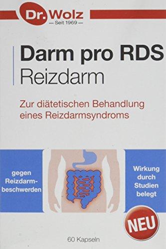 Darm pro RDS Reizdarm | Zur diätetischen Behandlung eines Reizdarmsyndroms | 60 Kapseln, magensaftresistent