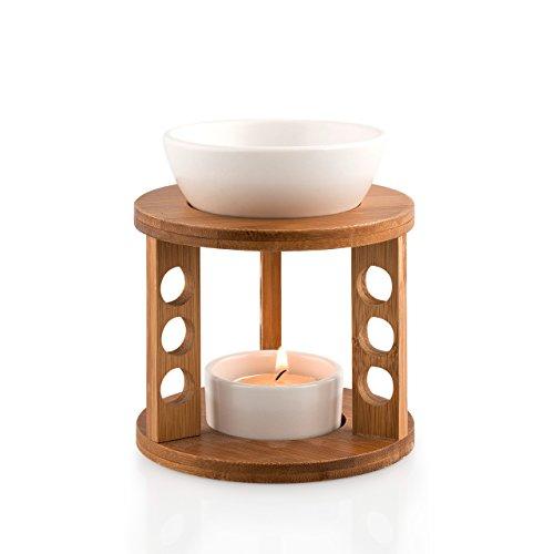 Pajoma 13813.0 Duftlampe Bamboo aus Bambus und Keramik