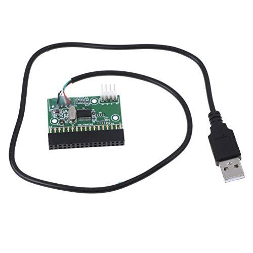 AOWA USB-Kabel an 34 PIN 34P-Diskettenschnittstellenadapter PCB-Konverterplatine Treiberplatine