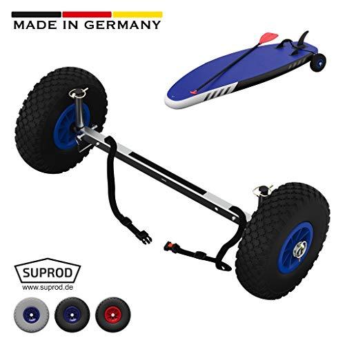 SUPROD SUP-Räder, SUP-Wheels, SUP-Wagen, Transporträder, UP260, Edelstahl, schwarz/blau
