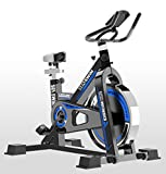 Brmind-Spinning bike Aerobic Indoor Training Heimtrainer Fitness Cardio Heimtrainer Rennsport-Sensoren
