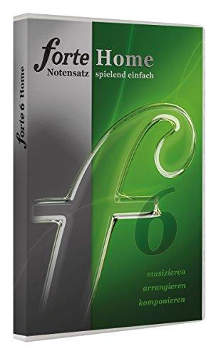 Forte 6 Home Notensatzprogramm für Hobbymusiker, Chorleiter oder Studenten