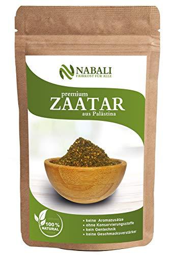 Zatar/Za'atar Qualitätsware aus Palästina 100 g   das Original nach Ottolenghi - 100% naturell   aromatisch   traditionell   frisch   orientalisch   ohne Konservierungsstoffe   Vegan