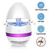 Sunnest Insektenvernichter, Elektrischer Insektenvernichter UV Insektenfalle Mückenlampe Fluginsektenvernichter, Insektenlampe Intelligente Mückenvernichter Innen Außeneinsatz