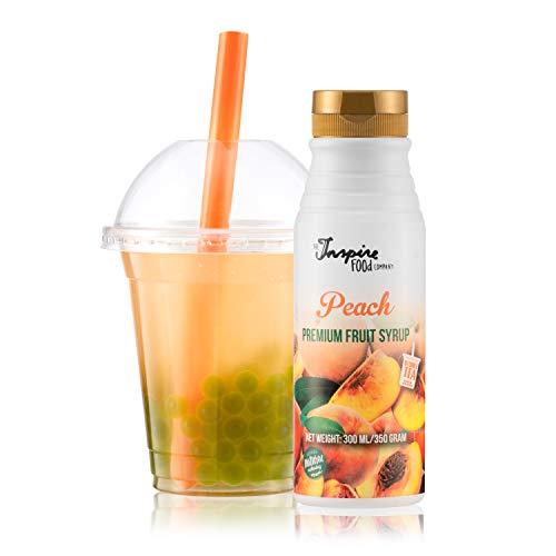 Fruchtsirup für Bubble Tea, Pfirsich, 300ml