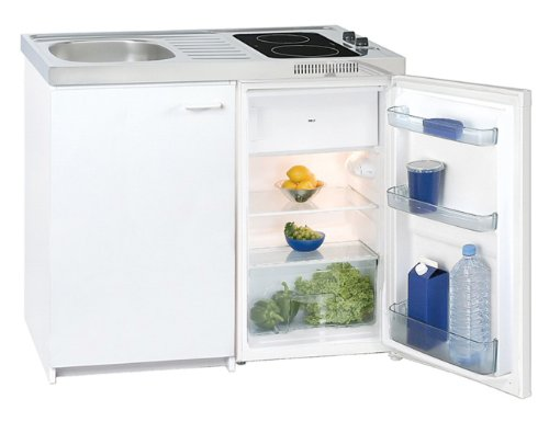 Exquisit KK2000Z Mini-Küche / weiß