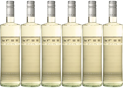 Bree Riesling Qualitätswein Weißwein feinherb (6 x 0.75 l)