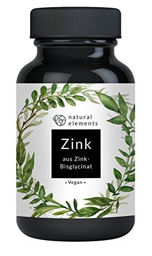 Zink - Einführungspreis - 365 vegane Tabletten - 25mg elementares Zink pro Tablette - Hoch bioverfügbar aus Zink-Bisglycinat (Zink Chelat) - Ohne unerwünschte Zusätze - Hochdosiert und hergestellt in Deutschland