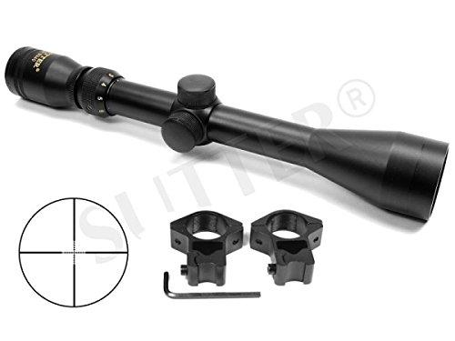SUTTER Zielfernrohr 3-12x40 d=25,4 Mildot - Montagen für 11mm Prismenschiene
