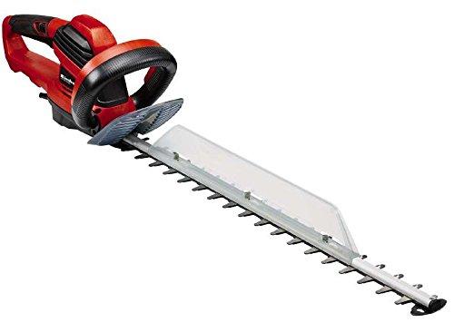Einhell Elektro Heckenschere GE-EH 6560 (650 W, 600 mm Schnittlänge, 30 mm Zahnabstand, Schnittgutsammler, Kabelzugentlastung)