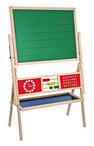 Idena 23905 - Standtafel mit Ablage, Magnetisch, 76 x 38 x 118 cm