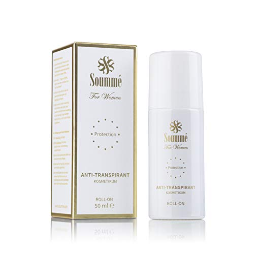 Soummé Antitranspirant Protection Roll-On for Women Kosmetikum | 50 ml | Schützt vor Schweiß- und Geruchsbildung, Dermatologisch getestet [Die Höhle der Löwen]