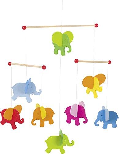 Mobile Elefanten: 40 x 45 cm, Holz, per Stück