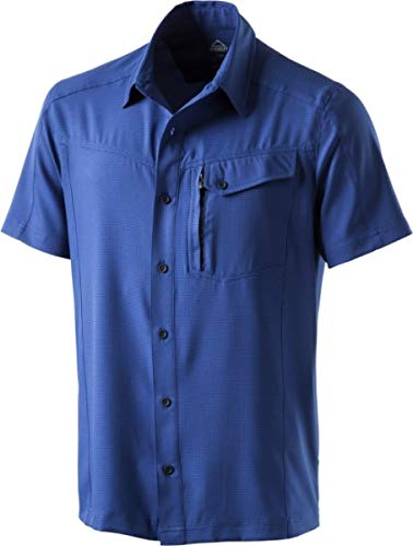 McKINLEY Herren Milson Hemd, Multicolor/Navy, XL