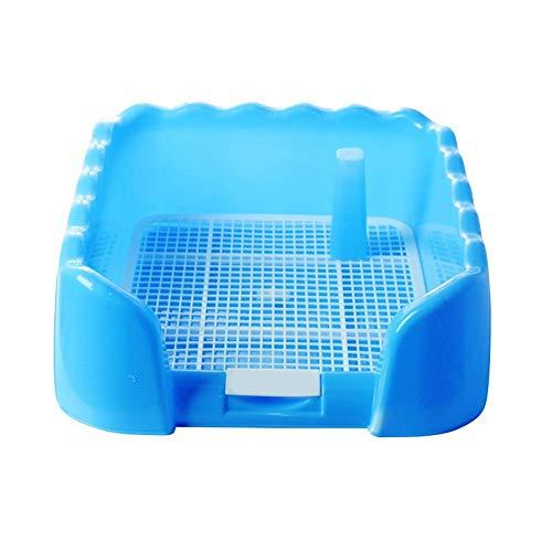 Wateralone Hundetoilette Zaun Gitter Pee Training Tablett, Mit Zaun Und Pipihalter Für Hunde Mittlerer Und Kleiner Größe Für Den Innen- Und Außenbereich