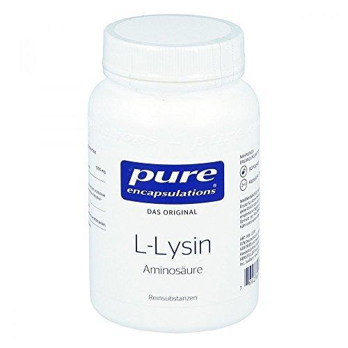 Pure encapsulations L-Lysin Aminosäure Kapseln, 90 St.