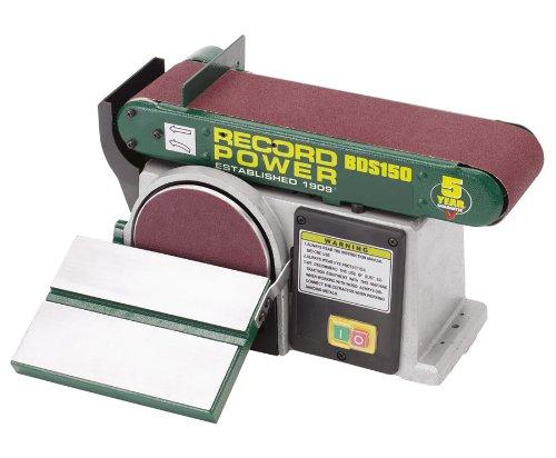 Band-Tellerschleifer BDS 150 - 250 Watt - 5 Jahre Garantie incl. Schleifmittelset