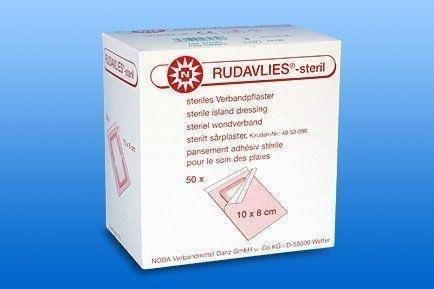 Rudavlies Steril Wundschnellverband 15 x 10 Centimeter (cm) 50 Stück