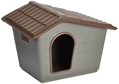 Nayeco P100010–Hundehütte Eco Mini, 41x 60x 50cm, grün