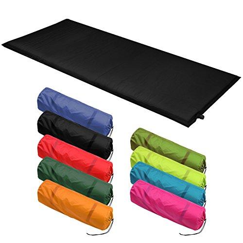 Isomatte Selfinflating – Matte verschiedene Größen, Farbe:black, Maße:200 x 66 x 6.0 cm