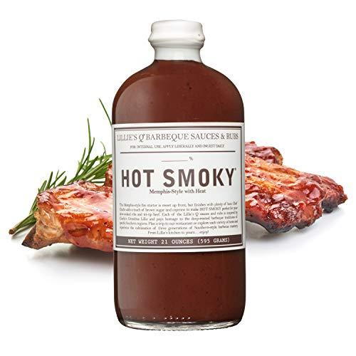 LILLIE'S Q - BBQ Sauce HOT SMOKY (595 g.)