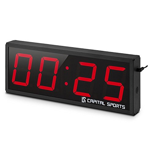 Capital Sports Timeter 2.0 4 Sporttimer Tabata-Timer 4 Ziffern