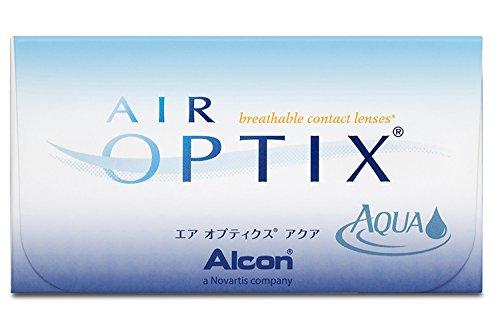 Air Optix Aqua Monatslinsen weich, 6 Stück / BC 8.6 mm / DIA 14.2 / -2,00 Dioptrien