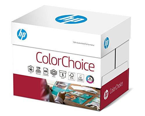 Hewlett-Packard CHP 750 Color-Choice Laserpapier 90 g DIN-A4, 210 x 297 mm, hochweiß, extraglatt 5 Pack = 1 Karton