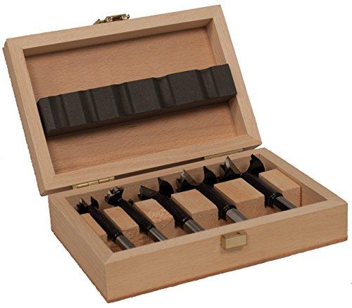 FAMAG Bormax 2.0 WS-Forstnerbohrersatz 5-teilig D=15,20,25,30,35mm im Holzkasten