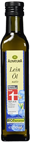 Alnatura Bio Leinöl, 6er Pack (6 x 250 ml)