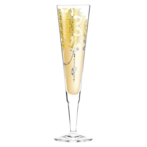 Ritzenhoff 1070232 Champus Champagnerglas, 7 x 7 x 24 cm, mehrfarbig