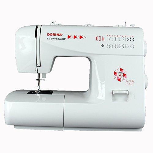 Gritzner   Dorina Freiarm-Nähmaschine 323   23 Nutz- und Zierstiche für jeden Stoff   Für DIY und Hobby   DORINA 323