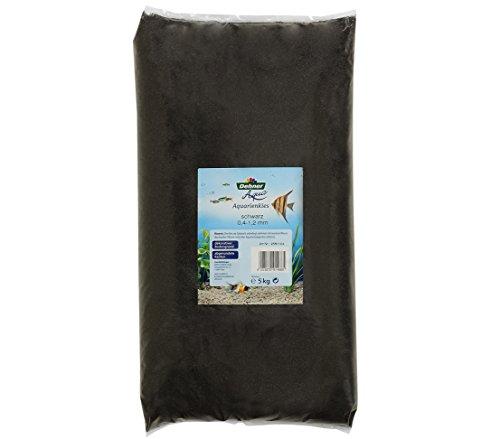Dehner Aqua Aquariensand, Körnung 0.4 - 1.2 mm, 5 kg, grau/schwarz