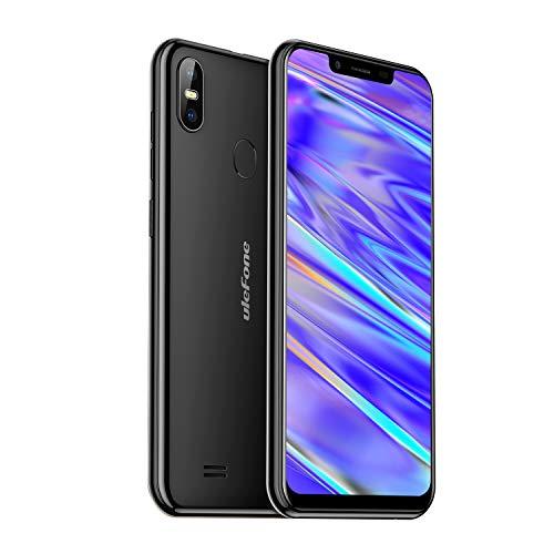 Ulefone S10 Pro 4G LTE Smartphone ohne Vertrag Dual SIM (5,7 Zoll 2GB RAM 16GB interner Speicher,16MP+8MP Dual Kamera, OTG Fingerabdruck Gesichtserkennung, Android 8.1 Handy Micro Nano SIM) Schwarz