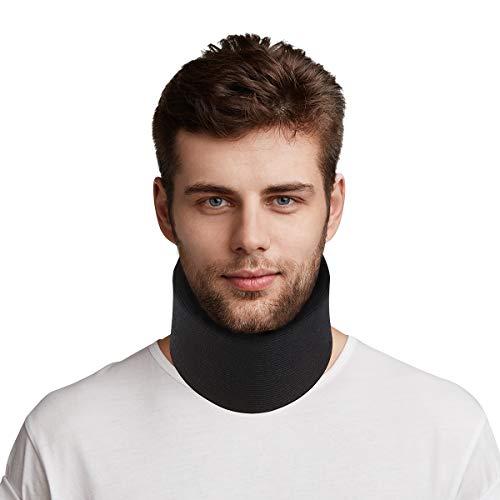 HEALIFTY Halskrause - One Size Cervical Halsband - Einstellbar, Super Soft - Support Wear zum Schlafen - Lindert Schmerzen und Druck im Rücken - für Männer, Frauen, ältere Menschen